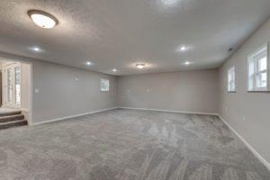alto sunken living room
